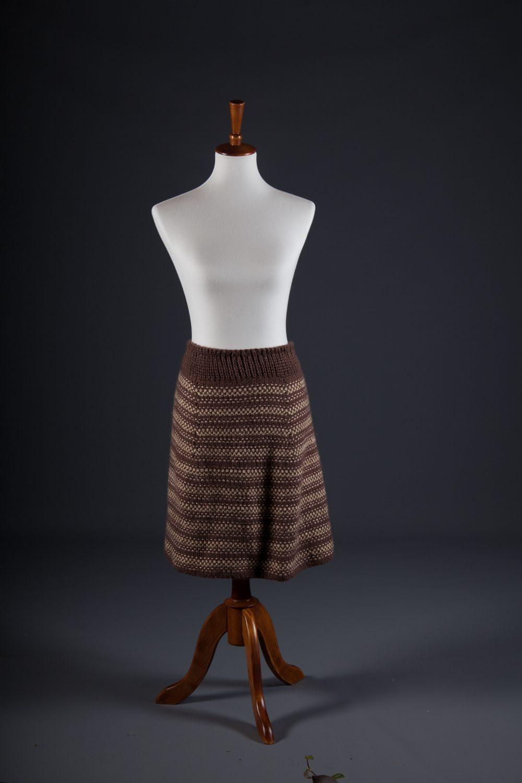 Kismet Knits knitting pattern charron skirt
